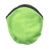 Foldable nylon frisbee in light-green