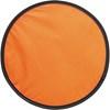 Foldable nylon frisbee in orange