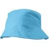 Cotton sun hat in light-blue