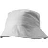 Cotton sun hat in white