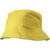 Cotton sun hat in yellow
