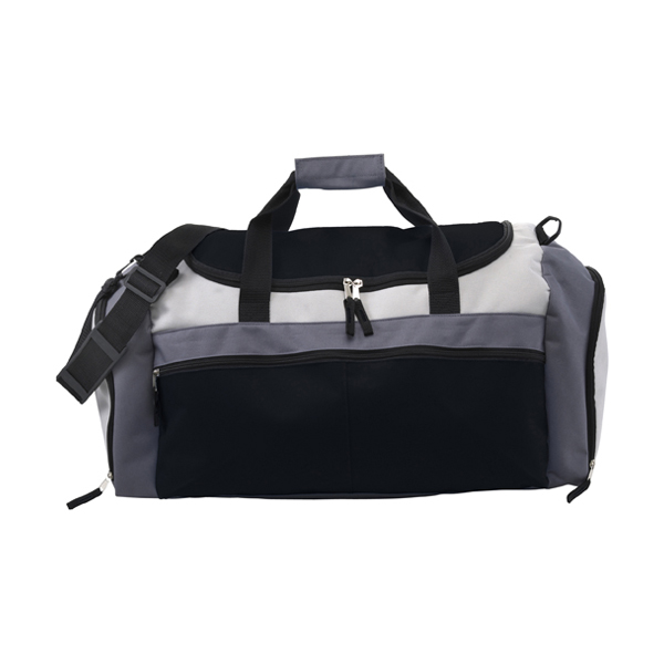 Large sports bag in black