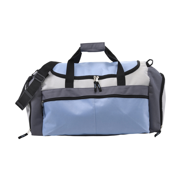 Large sports bag in light-blue