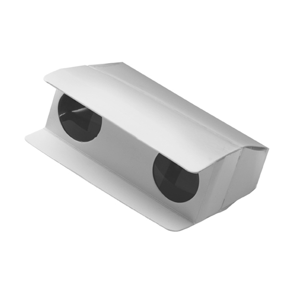 Foldable (3x mag) binoculars in white