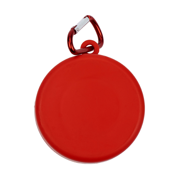 220ml Folding drinking cup. in red