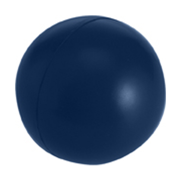 Anti stress ball in blue