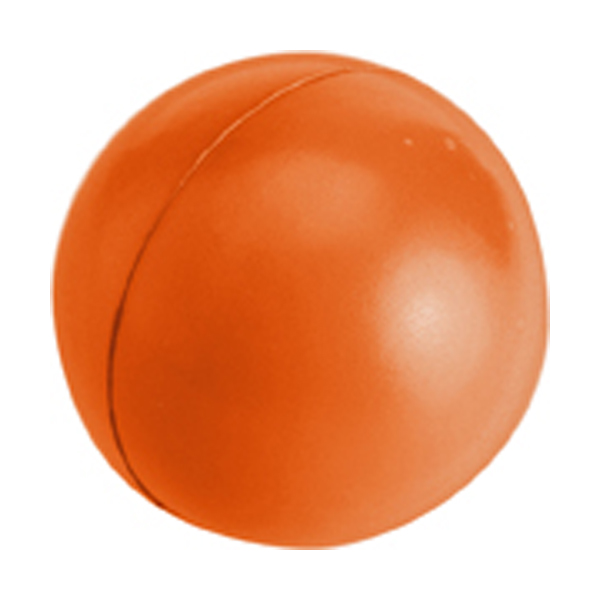 Anti stress ball in orange