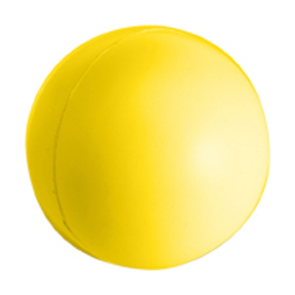 Anti stress ball in yellow