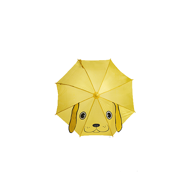 Animal umbrella in yellow