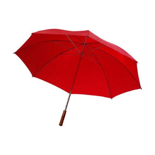 Golf umbrella in red