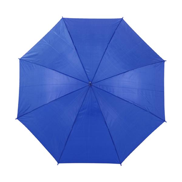 Automatic umbrella in cobalt-blue