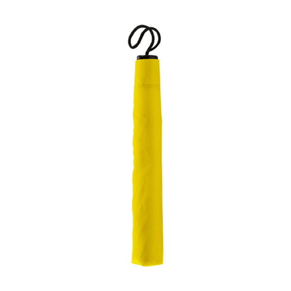 Folding umbrella in yellow