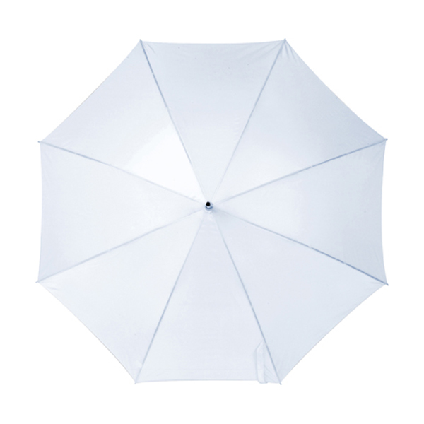 Automatic umbrella in white