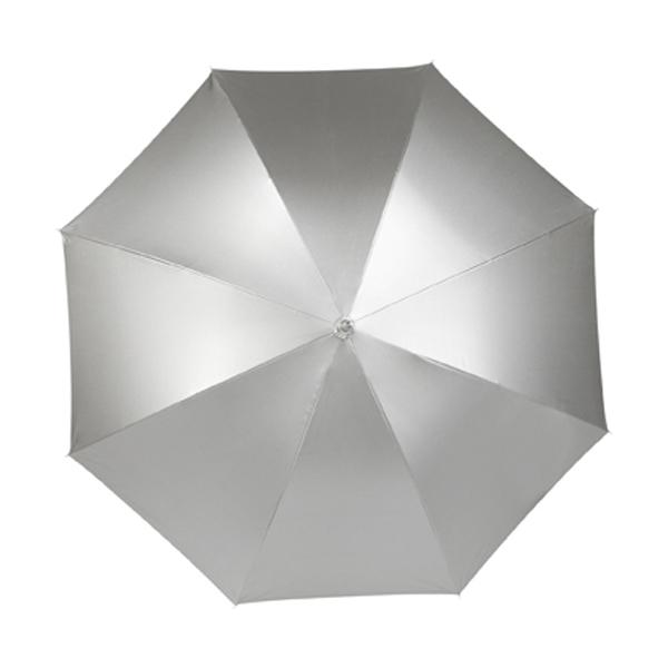 Nylon umbrella in silver