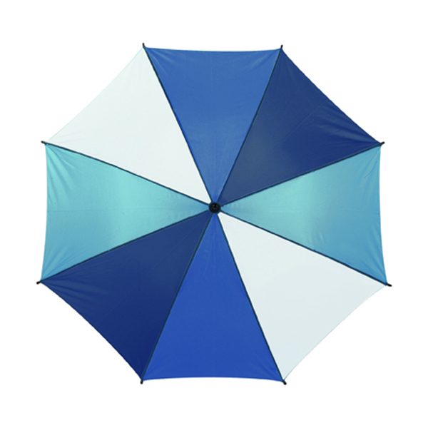 Classic style umbrella in dark-blue-ice%20blue-cobalt-blue-and-white