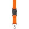 Lanyard and key holder in orange
