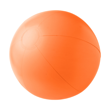 Beach ball, 35cms deflated in orange