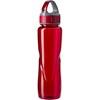 Tritan water bottle. in red