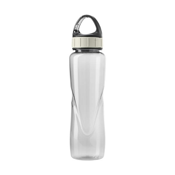 Tritan water bottle. in transparent