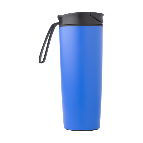 450ml Thermos flask. in royal-blue
