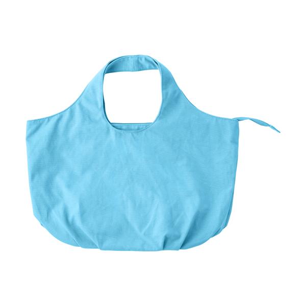 Cotton, 12oz beach bag.  in light-blue