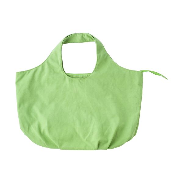 Cotton, 12oz beach bag.  in light-green