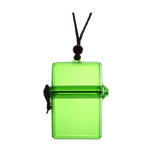Waterproof container. in light-green