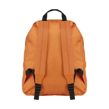 Polyester backpack in orange