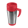 420ml Stainless steel mug in red