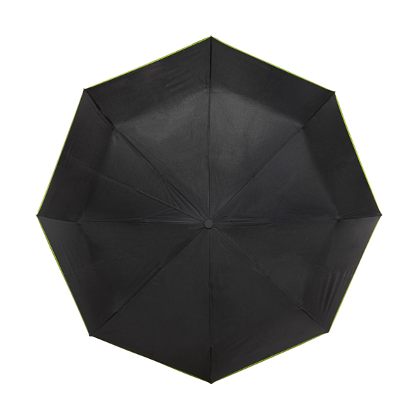 Automatic opening and closing windproof umbrella. in black