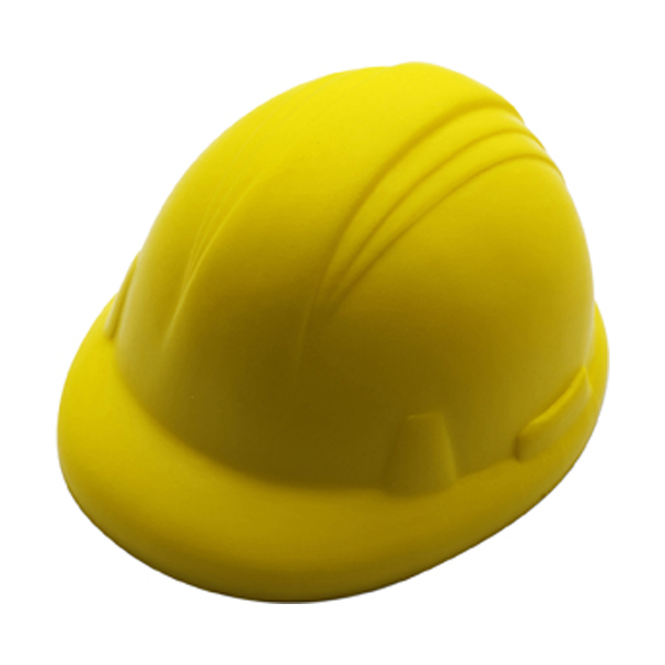 Anti stress hard hat in yellow