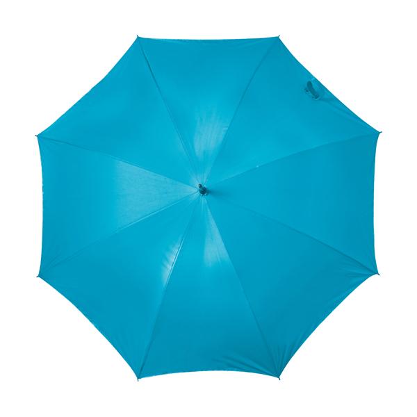 Automatic storm proof umbrella. in light-blue