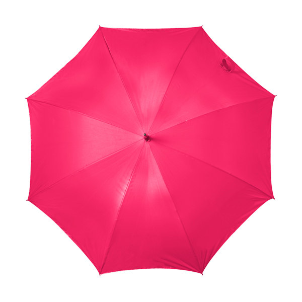 Automatic storm proof umbrella. in pink