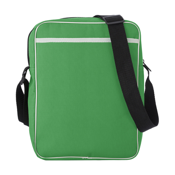 Polyester 600D retro style bag. in light-green
