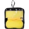 Three piece car wash set. in yellow