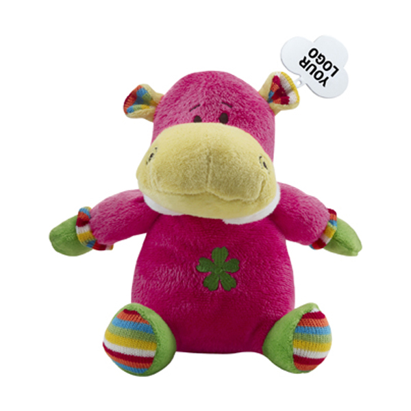 Plush toy elephant. in pink