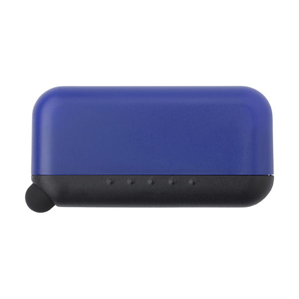 Screen cleaner and stylus. in cobalt-blue