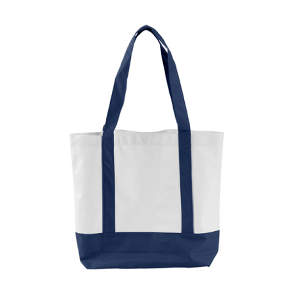 Shopping bag in blue