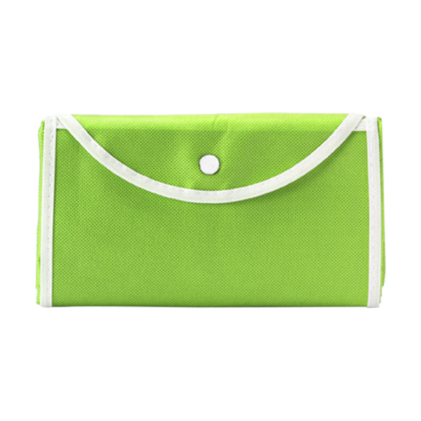 Foldable shopping bag in lime