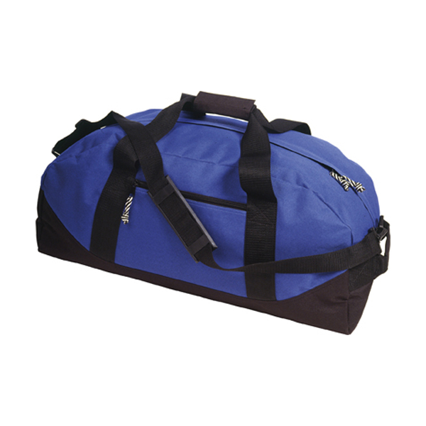 Sports/travel bag in cobalt-blue