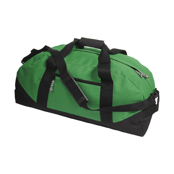 Sports/travel bag in light-green