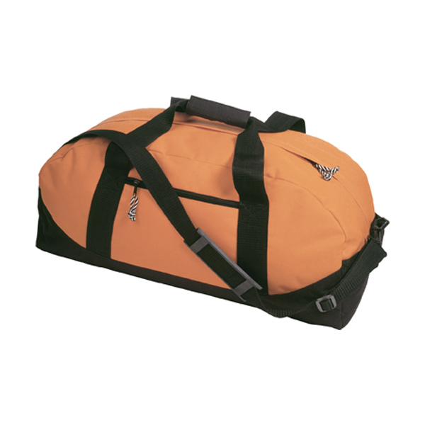 Sports/travel bag in orange
