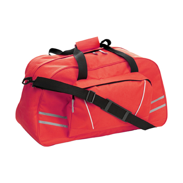 Sports/travel bag in red