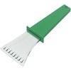 Plastic ice scraper. in green