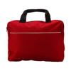 Document bag in red