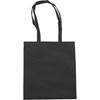 Exhibition bag, non woven  in black