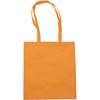 Exhibition bag, non woven  in orange