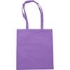 Exhibition bag, non woven  in purple