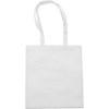 Exhibition bag, non woven  in white