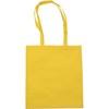 Exhibition bag, non woven  in yellow